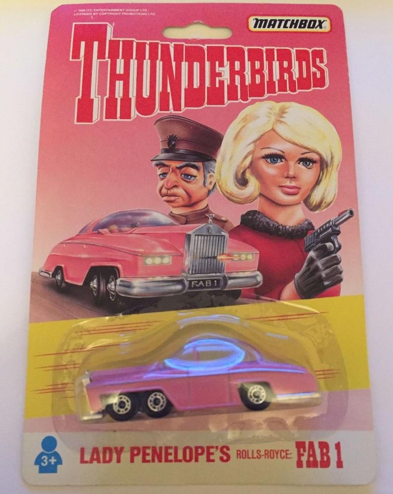 Matchbox Thunderbirds Lady Penelopes Rolls Royce FAB1