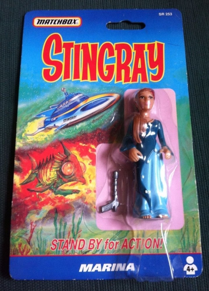 Matchbox Marina Stingray Figure Collectable Vintage Toy Sealed Original