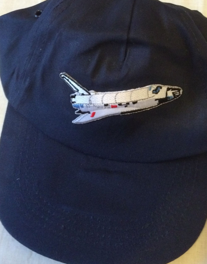 NASA Space Shuttle Embroided Logo Cotton Baseball Cap Hat