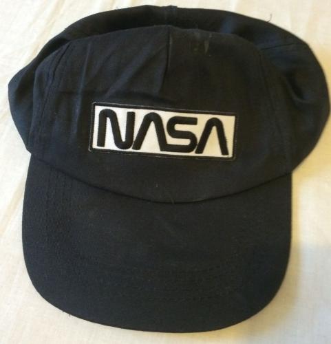 NASA Classic 60s Logo Embroided Cotton Baseball Cap Hat