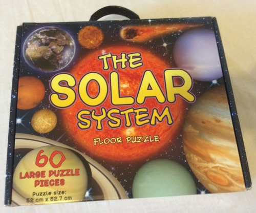 The Solar System Large Floor Puzzle Space Planets Learning