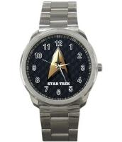 STAR TREK Quality Sport Metal Wrist Watch Rare