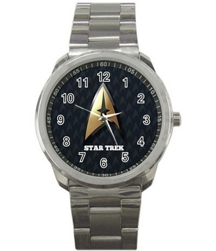 STAR TREK Quality Sport Metal Wrist Watch Rare