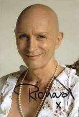 Genuine Hand Signed Richard O'Brien The Crystal Maze TV Show Photo