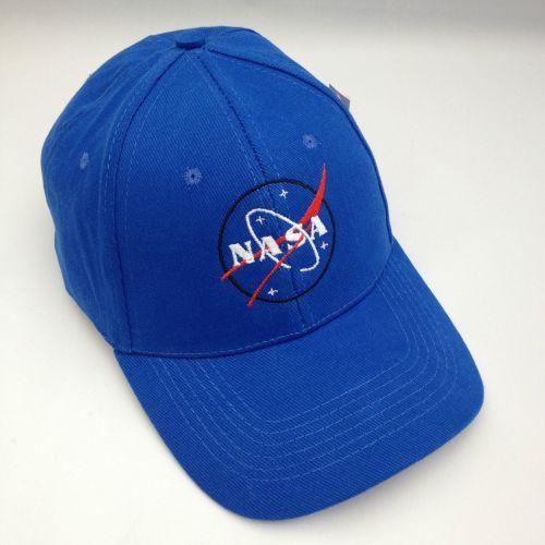 Nasa Space Logo Embroidered Baseball Cap Hat