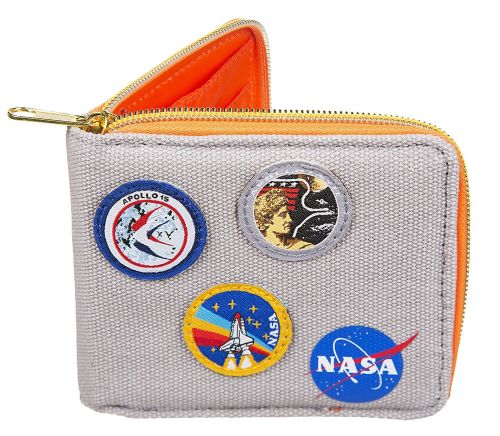 Boxed Canvas NASA Wallet
