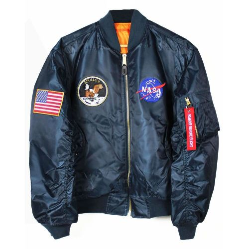 Amazing NASA Apollo 11 Moon Landing Flight Jacket Quality Neil Armstrong