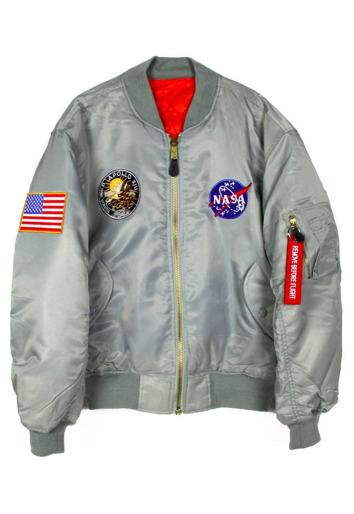 Amazing NASA Apollo 13 Moon Landing Flight Jacket Quality