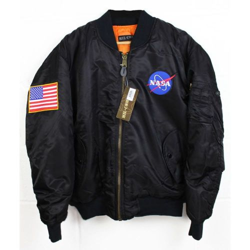 Amazing NASA Logo Space Flight Jacket Quality