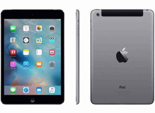 Apple iPad Mini Cellular Sim 4G 3G EE Network 16GB Space Grey Plus Accessor