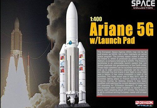 Dragon Wings Space Collection Ariane 5G with Launch Pad 1/400 Scale Model 5