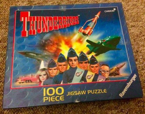 Thunderbirds Jigsaw Puzzle Rare Good Condition Collectable