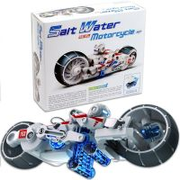 Pure Salt Water Power Motorcycle Bike kit Learning Amazing