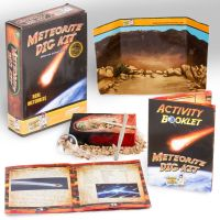 Meteorite Space Science Kit - Dig Up a Real Meteorite and Tektite