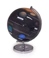 Large Light Up Globe Of Our Planet Solar System 35cm High