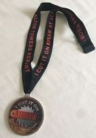 Alton Towers Theme Park Ripsaw Ride Lanyard & Medal RARE