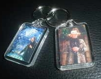 The Crystal Maze Keyring Richard O'Brien TV Game Show Challenge