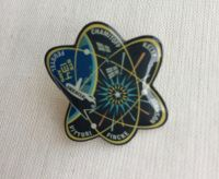 Space Mission Patch NASA Design 4 Pin Badge High Detailed
