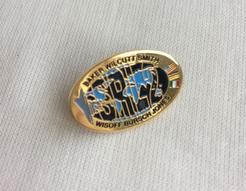 Space Mission Patch NASA Design 6 Pin Badge High Detailed