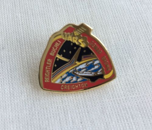 Space Mission Patch NASA Design 10 Pin Badge High Detailed
