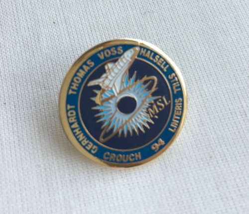 Space Mission Patch NASA Design 12 Pin Badge High Detailed
