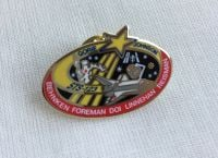 Space Mission Patch NASA Design 15 Pin Badge High Detailed