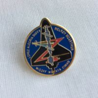 Space Mission Patch NASA Design 17 Pin Badge High Detailed