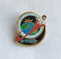 Space Mission Patch NASA Design 20 Pin Badge High Detailed