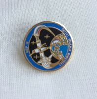 Space Mission Patch NASA Design 21 Pin Badge High Detailed