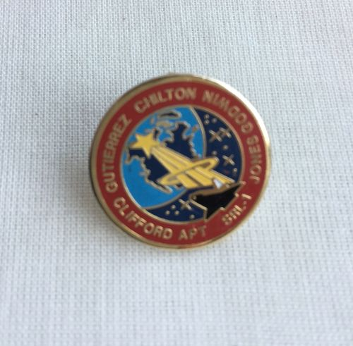 Space Mission Patch NASA Design 22 Pin Badge High Detailed