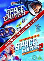 Space Chimps 1 And 2 [DVD] Movie Set Collection Kids Adventure