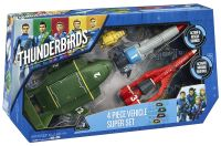 Thunderbirds Full Vehicle Super Set With Sounds Etc