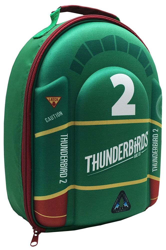 Thunderbirds 2 School Lunch Bag With Padded 3D Front Quality