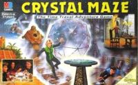 The Crystal Maze MB Board Game (Rare Complete)