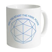 The Crystal Maze Richard Obrien Will You Start The Fans Please Mug 90s TV Classic