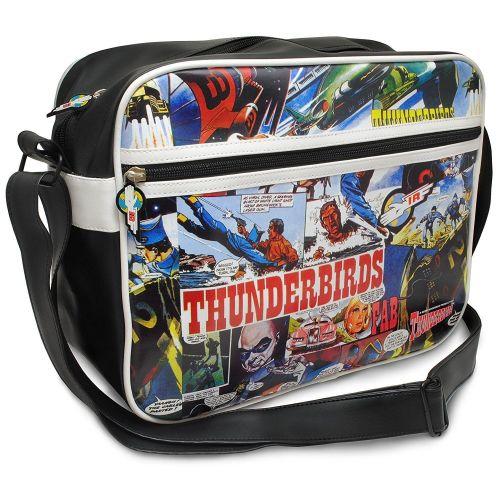 Gerry Anderson Classic Thunderbirds Comic Strip Messenger PC Laptop Bag Sch