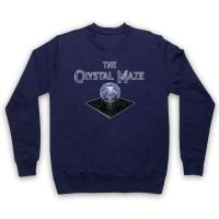 CLASSIC RETRO GAMESHOW THE CRYSTAL MAZE ADULTS & KIDS JUMPER PULLOVER SWEATER