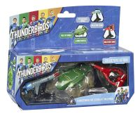 "Vivid Imaginations ""Thunderbirds Are Go Diecast"" Vehicles Multi Pack Action Set Models"