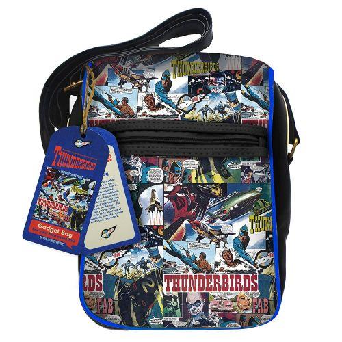 Thunderbirds Gadget Case Bag Amazing Retro Comic Design Gerry Anderson