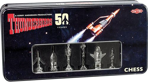 Gerry Andersons Thunderbirds Classic 50th Anniversary Chess Game Classic Re