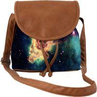 Space Nebula Meteorite Space Casual Spacious Multi Purpose Womens Sling Bag Carry Around