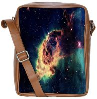 Nebula Galaxy Meteorite Space Sling Bags Crossbody Backpack Chest Daypack Travel Bag Book Bag For Men & Women