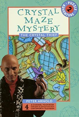 The Crystal Maze Channel 4 Chatsworth Adventure Game Book Rare