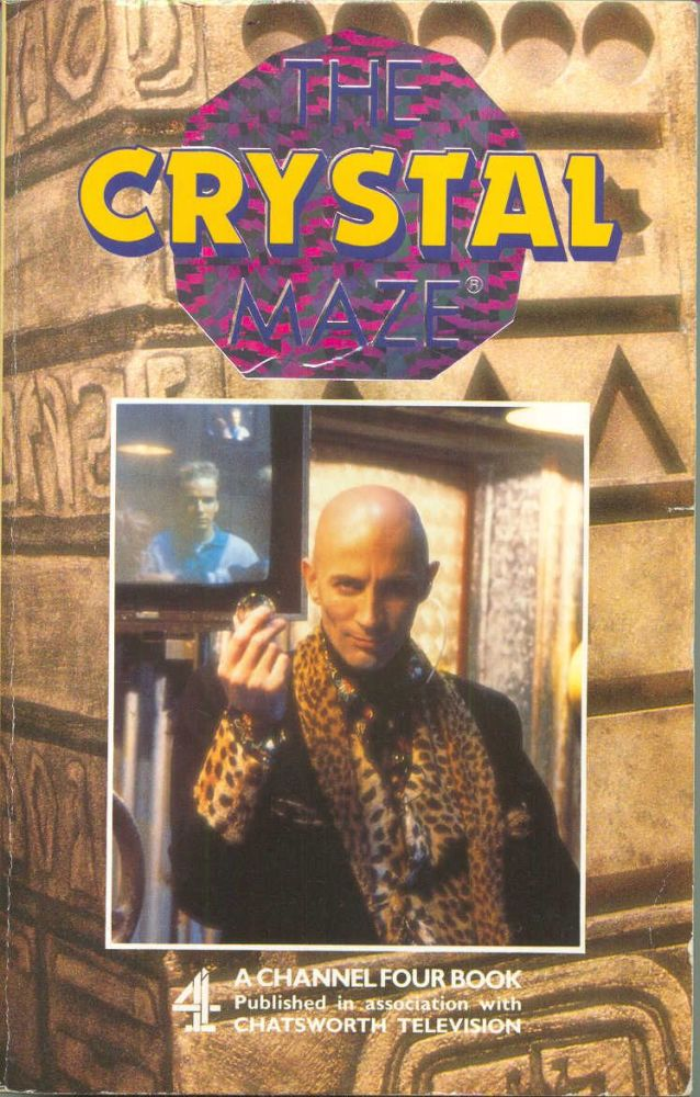 The Crystal Maze Adventure Puzzle Mystery Book