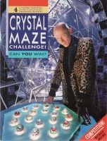 The Crystal Maze Challenge TV Series Book Richard O'Brien Chatsworth Channel 4 Very Rare