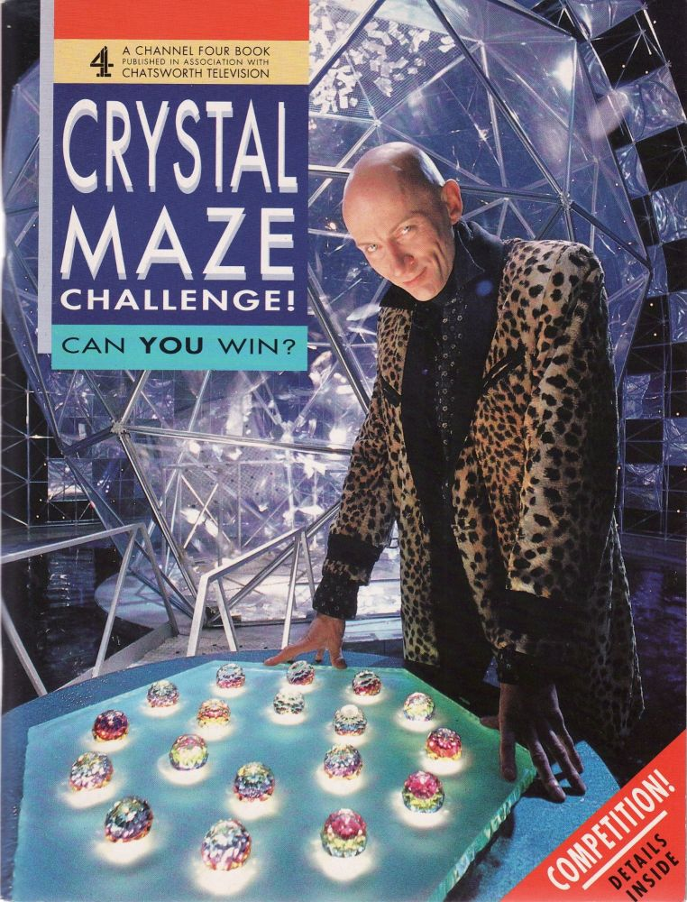 The Crystal Maze Challenge TV Series Book Richard O'Brien Chatsworth Channe