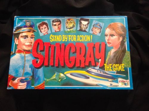 Stingray Board Game Gerry Anderson Very Rare