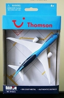 RT0814 Thomson Boeing 787 Dreamliner Diecast Aircraft Plane Model (Approx 135mm long) Genuine