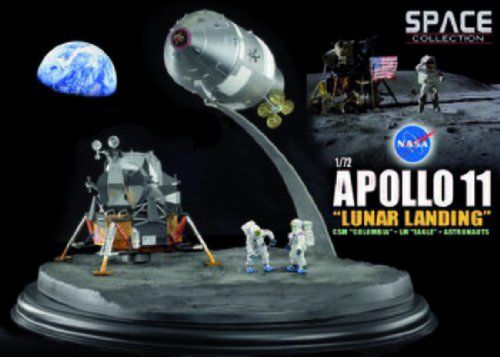 Dragon Wings Space Collection Apollo 11 Lunar Landing 1/72 Scale Display Mu