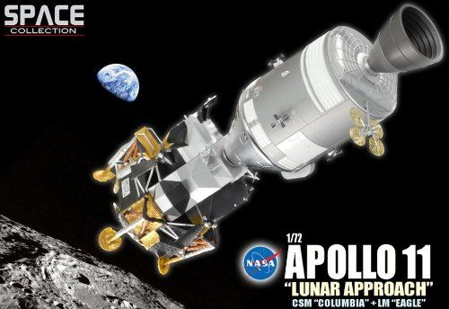 Dragon Wings Space Collection Apollo 11 Lunar Approach 1/72 Scale 50375 Mod